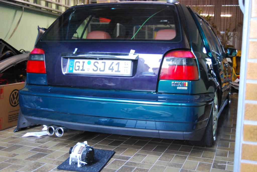 Cabrio verdeck neu beziehen 3 golf VW Golf